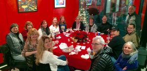 The Good Fortune Jewelry Team - 2015 Holiday Party - pre-owned jewelry